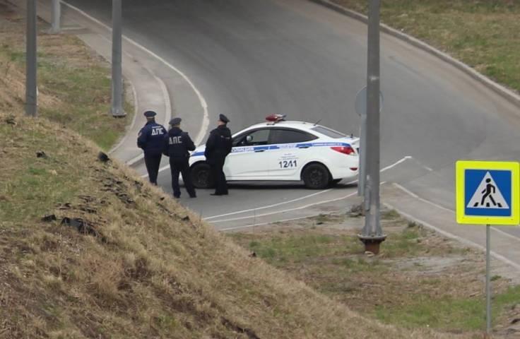 Еще один Subaru разбился об столб в Приморье