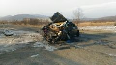 В ГИБДД уточнили обстоятельства серьезного ДТП в Приморье