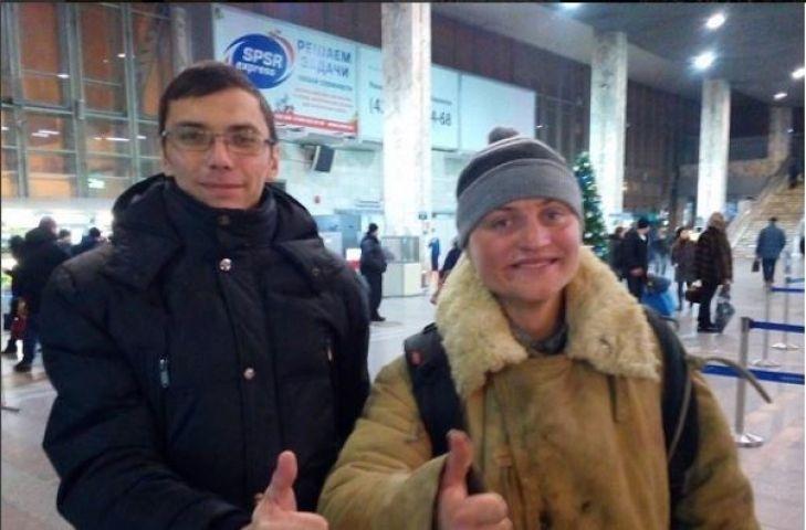 Серега Питерский перед отлетом пообещал вернуться в Приморье