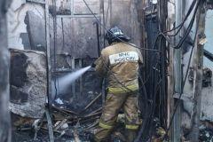 Квартира в многоэтажном жилом доме вспыхнула в Приморье