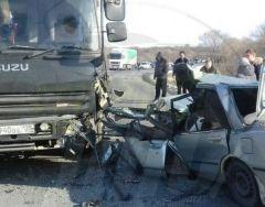 Водитель чудом выжил в тяжелом ДТП на трассе в Приморье