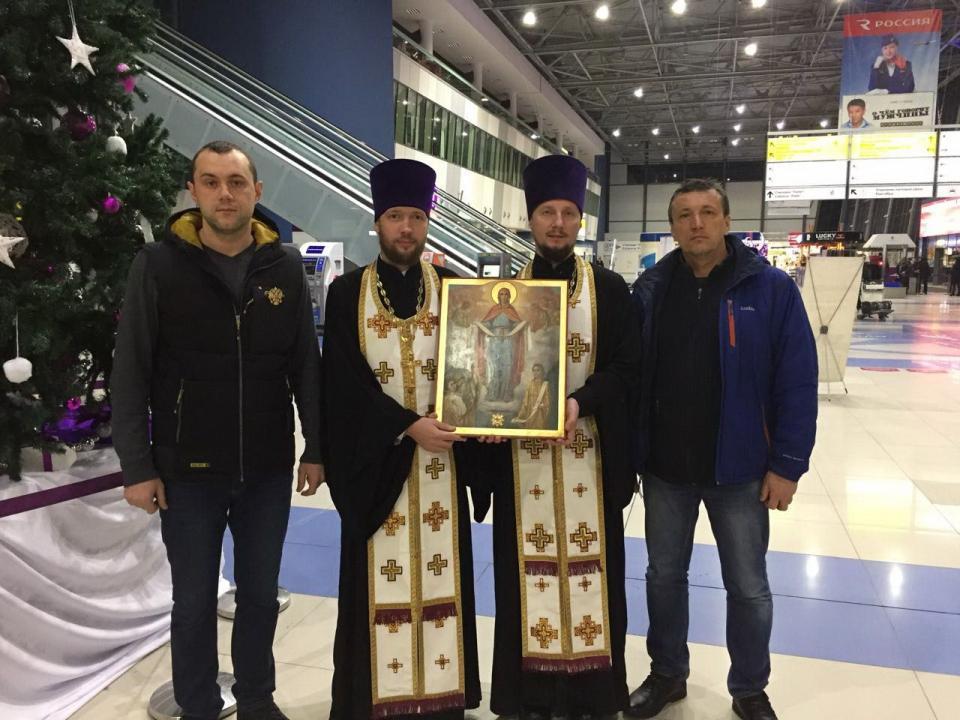 Икона Покрова Божией Матери прибыла в Приморье
