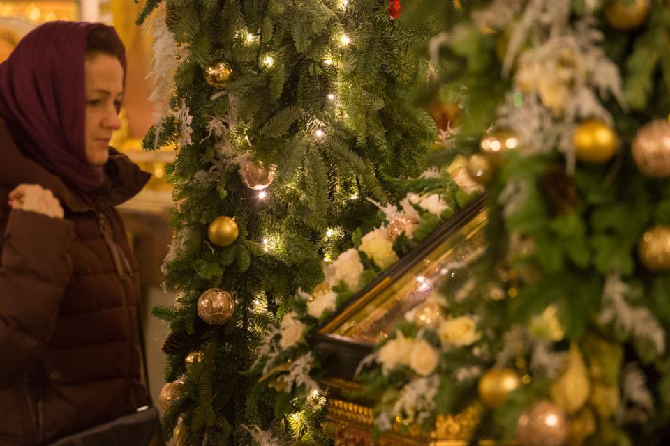 Владивосток празднует православное Рождество