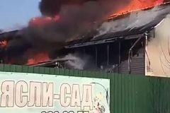Житель Приморья спас из огня шесть детей и их воспитательницу