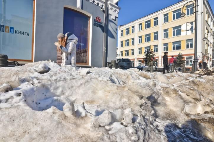 Необычная кража в центре Владивостока попала на видео