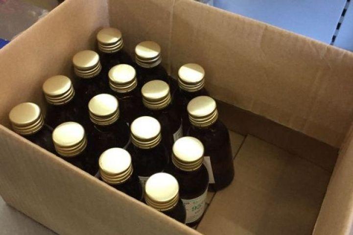 Почти 20 литров запрещенного спирта изъяли из магазинов Находки за один день