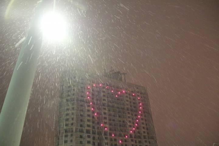 Во Владивостоке снова выпадет снег