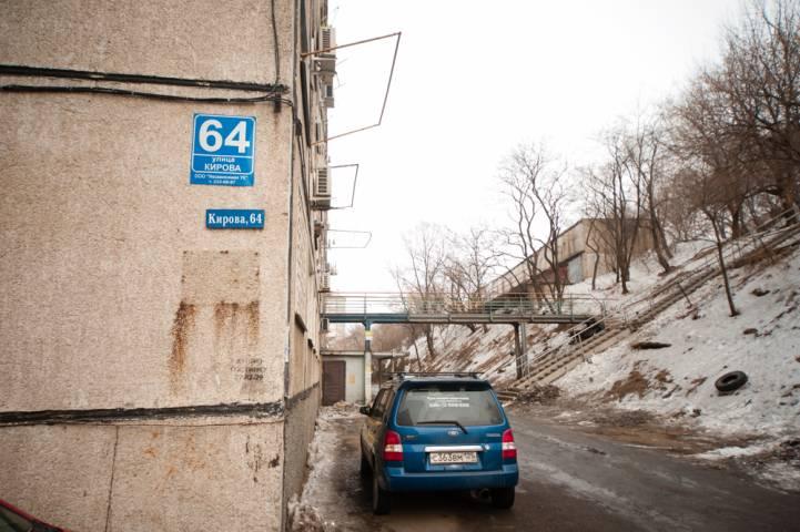 Ледовый апокалипсис во Владивостоке продолжается