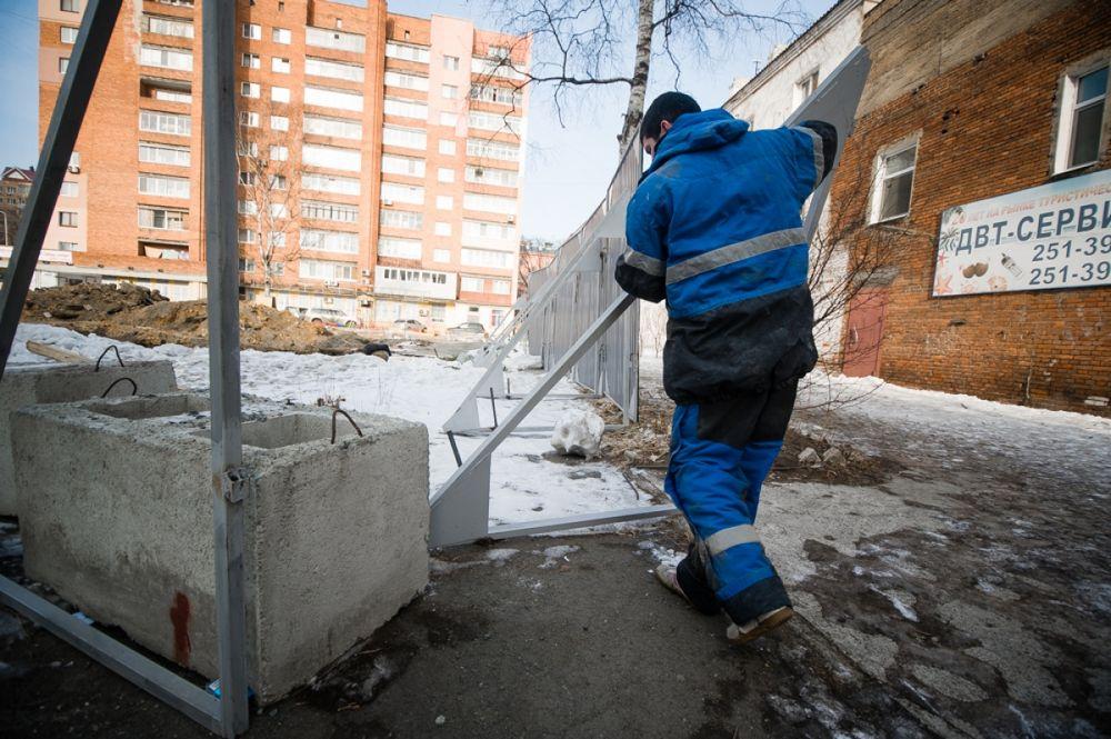 Во Владивостоке начали сносить депутатскую стройку