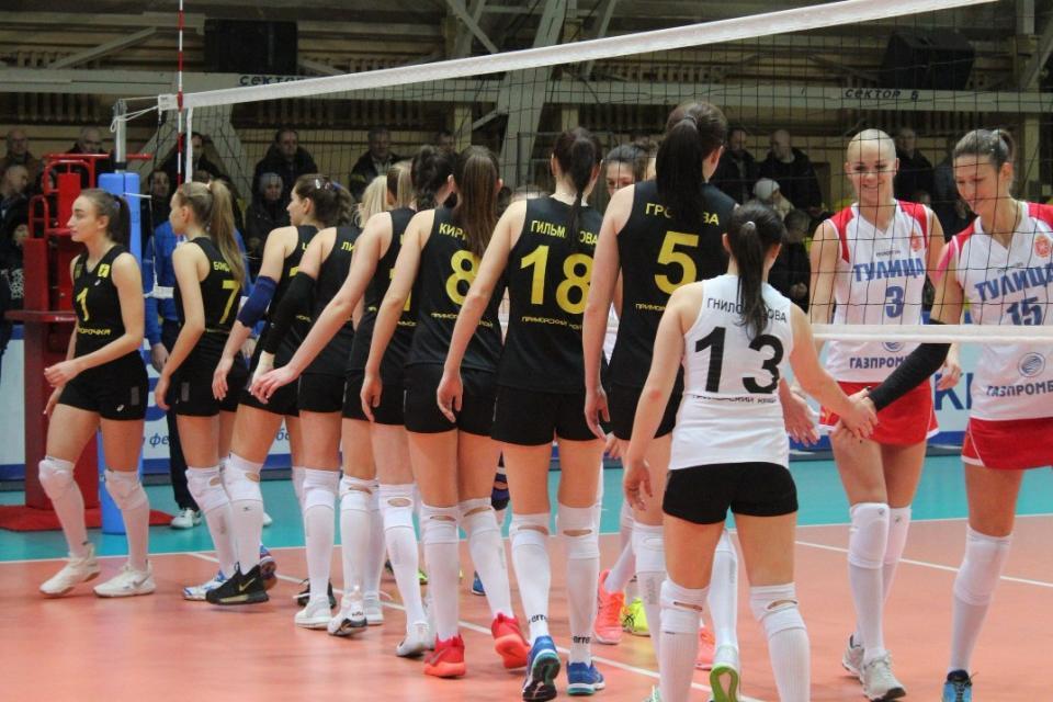 «Приморочка» завершила первый круг чемпионата на пятом месте