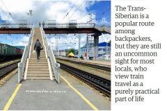 The Guardian опубликовал фотоисторию о путешествии на поезде из Москвы во Владивосток