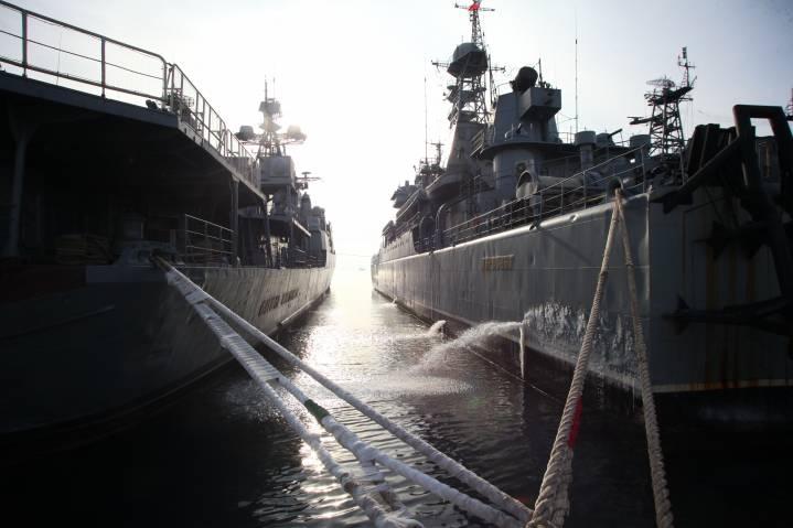 Отряд боевых кораблей ТОФ вернулся во Владивосток
