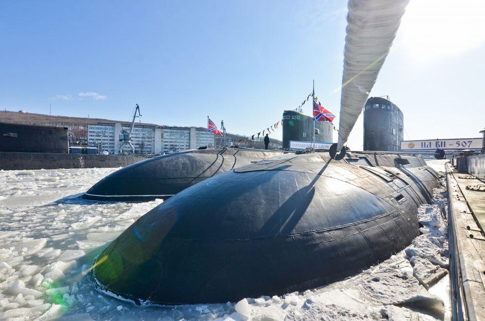 Подлодка «Комсомольск-на-Амуре» вернулась в состав ТОФ