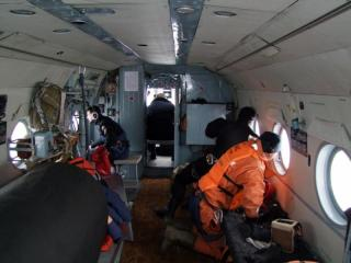 В районе поиска судна «Восток» спасатели обнаружили предмет, похожий на плот