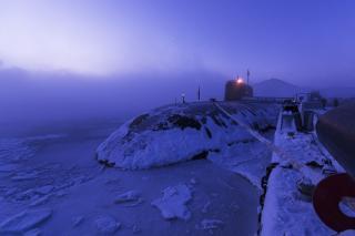 Приморские подлодки оказались в ледяном плену
