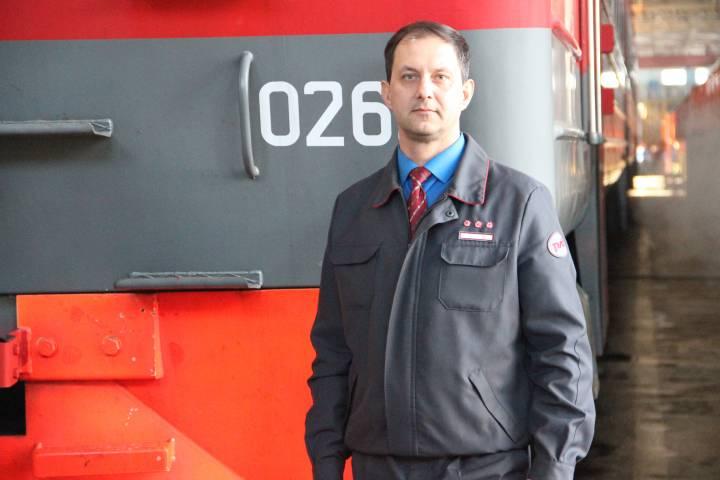 Машинист Андрей Ковалев: «Моя работа интересная и творческая»