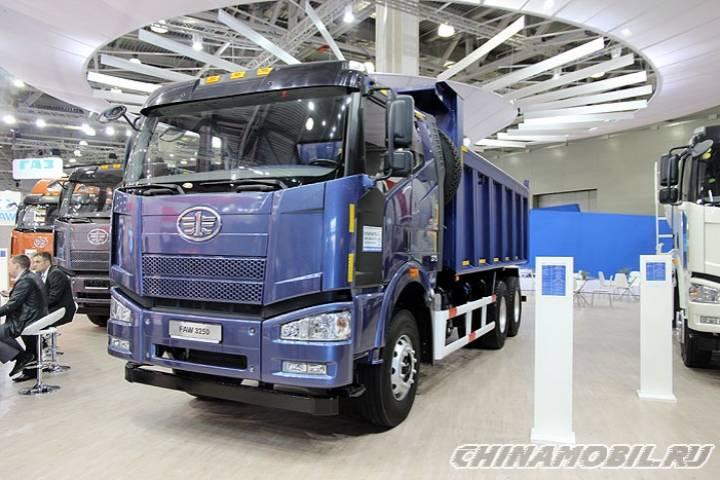 Российско-китайский завод по производству грузовиков FAW готовится к открытию