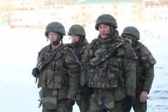 Более 500 человек пошли на военную службу по контракту в ВВО