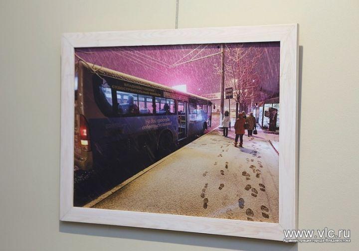 Во Владивостоке открылась фотовыставка «Город зимой»