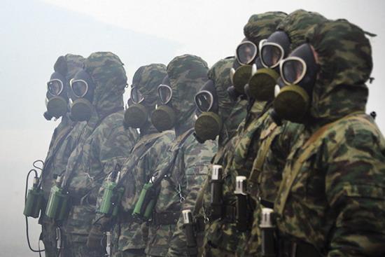 Приморские войска РХБЗ отправились в Кострому отстаивать честь округа