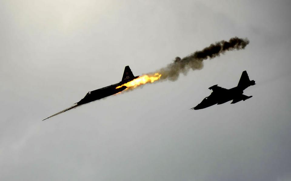 В Сирии сбит самолет с пилотом из Владивостока