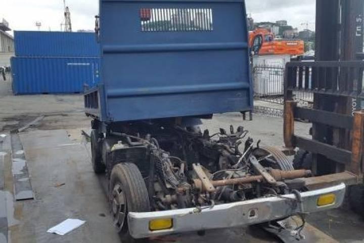 На Владивостокской таможне обнаружили радиоактивный грузовик