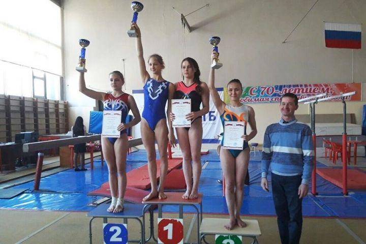 Приморские гимнасты с успехом выступили на первенстве ДВФО