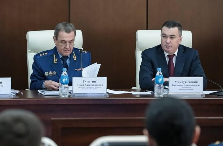 Замгенпрокурора России поручил усилить контроль над землями во Владивостоке
