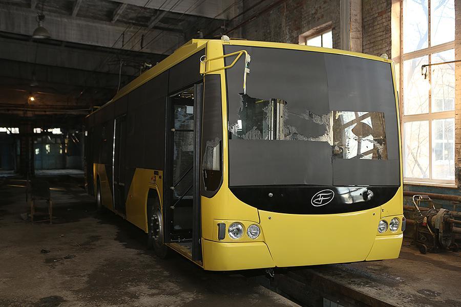 Новый троллейбус выйдет на маршрут № 11 во Владивостоке в марте