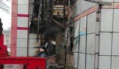 В Приморье загорелся кинотеатр