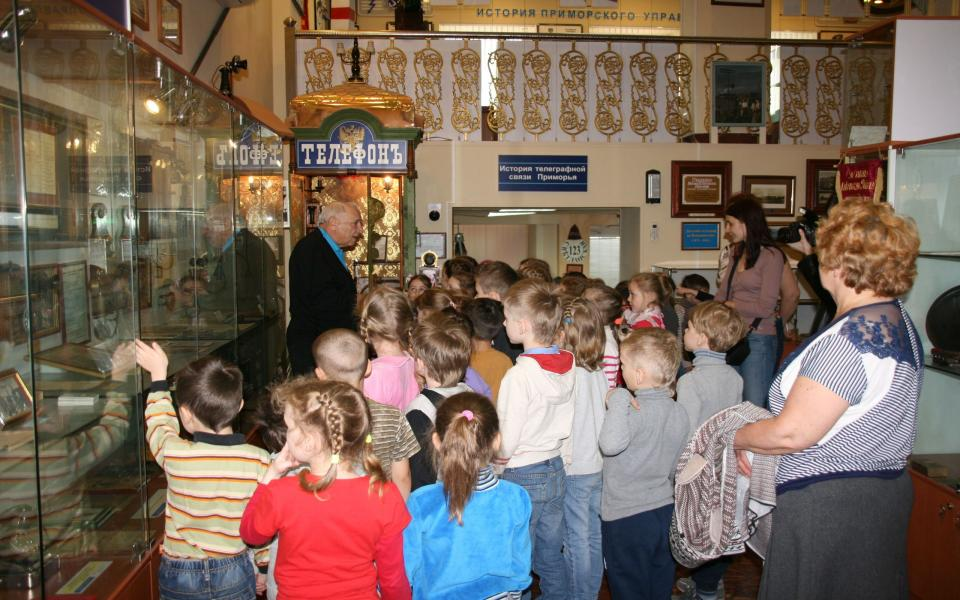 Музей связи «Ростелекома» приглашает на день открытых дверей во Владивостоке