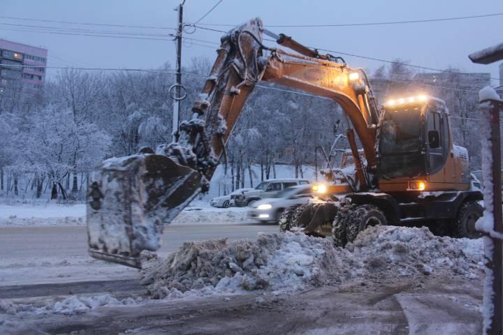 Мэрия Владивостока считает, что в городе нет проблем из-за снегопада