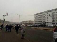 Необычные «увечья» нанесли автомобилю, припаркованному возле ДВФУ