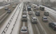 Владивосток вновь сковали пробки