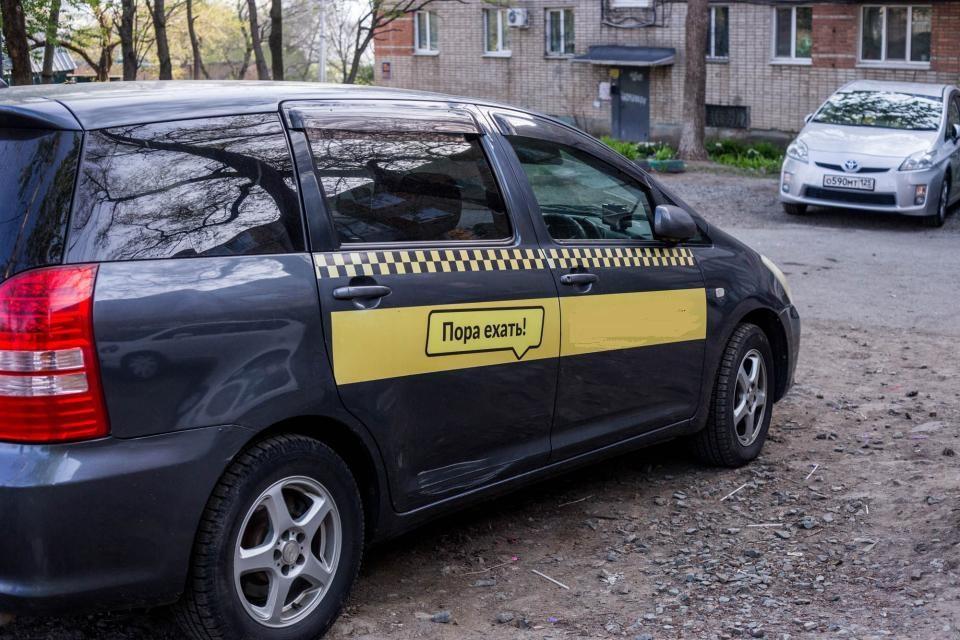 Пьяные жители  Владивостока прокатились на такси бесплатно