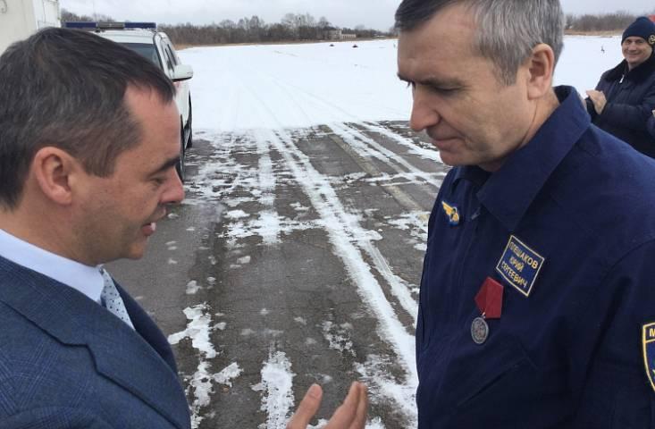 Летчик из Приморья получил награду от президента России