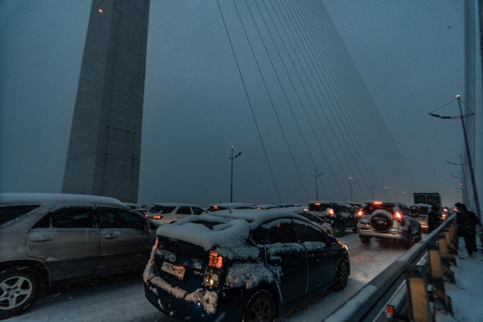 Синоптики назвали точное время удара стихии по Владивостоку