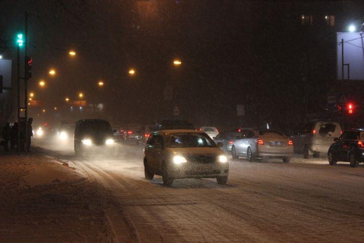 К ночи снег во Владивостоке усилится