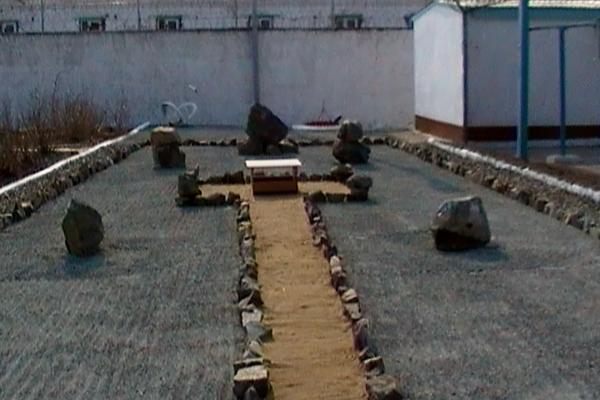 В Приморье осужденные построили сад камней для медитации