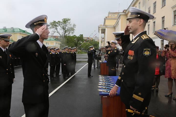 Курсанты Приморья готовятся к параду Победы в Москве
