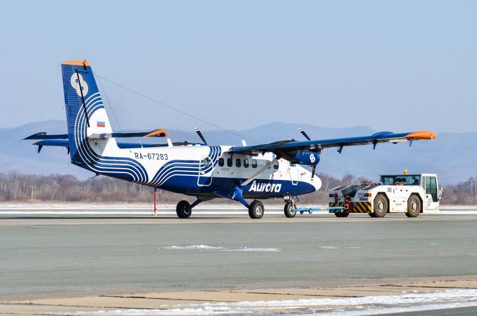 Авиарейс в Дальнегорск из Владивостока отменен