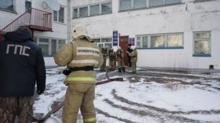 Приморские огнеборцы ликвидировали «пожар» в детском доме