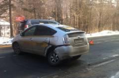 В Приморье произошло ДТП по вине таксиста