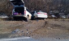 Неудачный поворот на трассе привел к ДТП в Приморье