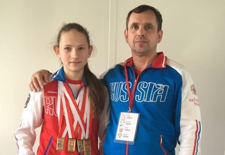Юная спортсменка из Приморья установила мировой рекорд по пауэрлифтингу