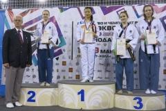 Приморские тхэквондисты завоевали 24 медали на всероссийском турнире