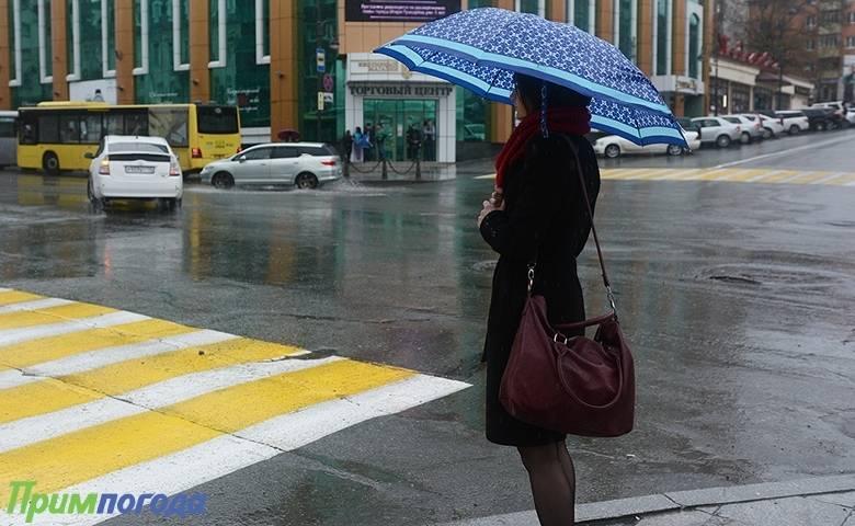 Сегодня вечером во Владивостоке возможен дождь