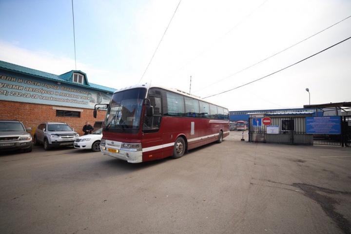 В Приморье растет количество незаконных автобусных перевозок