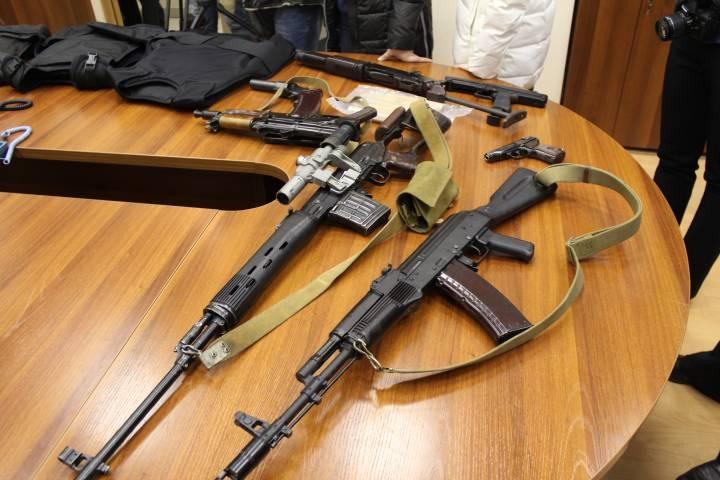 Более 200 единиц нелегального оружия нашли полицейские Находки за прошлый год