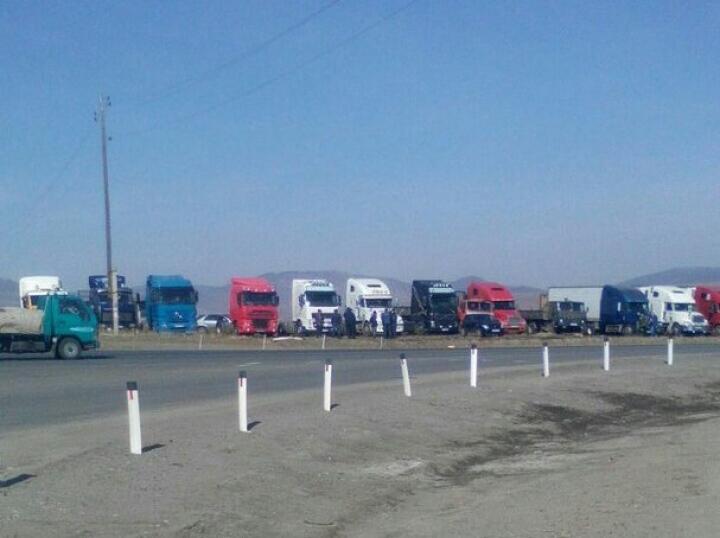 Приморские дальнобойщики присоединились ко всероссийской стачке против «Платона»